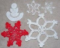 How to Stiffen Crochet Thread Ornaments - or use Modge Podge