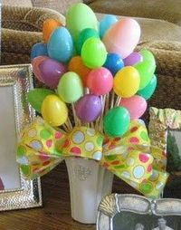 Easter Egg Bouquet...how cute!