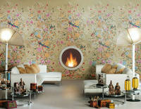 florilege living Ceramic Tiles That Look Like Wallpaper From Novoceram