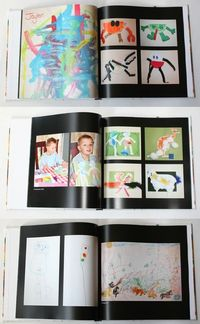 Make art into book (save space)