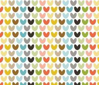 hearts multi fabric by bunnypumpkin on Spoonflower - custom fabric