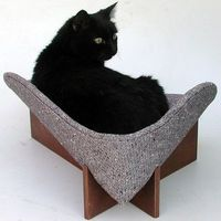 Cat bed by likekittysville