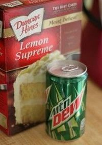 Mountain Dew cake. YUMO!