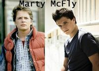 Don't think there is ever going to be a remake, but if there was, I think Josh would make a great Marty McFly. Just sayin'.
