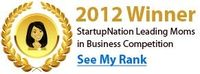 Incredibly honored! Top 50 of StartupNation's Leading Moms in Business Competition. #leadingmoms