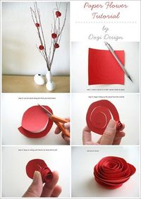 Rolled Paper Flower