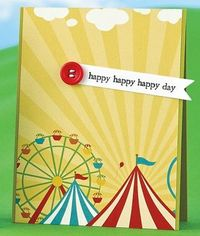 Happy, Happy, Happy Day Card by