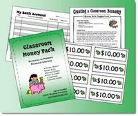 Classroom Money Pack freebie from Laura Candler - perfect for April which is Financial Literacy Month!