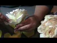 How to make a coffee filter rose step by step