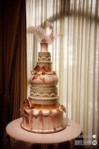 Bellagio wedding cake