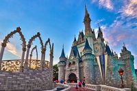 I want to stay a night in Cinderella's castle