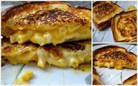 Grilled Cheese Mac & Cheese