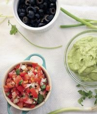 Avocado Cream....dairy free and sound like it would be a great dip too.