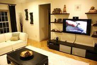 living room shelves?