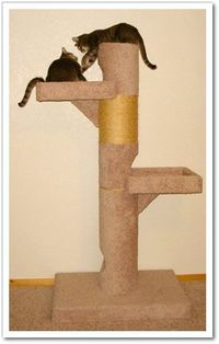 build a DIY cat tree