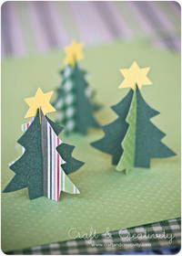 Craft of the Day, paper Christmas tree | Craft & Creativity
