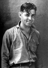 Clark Gable. Still dreamy even without the mustache.
