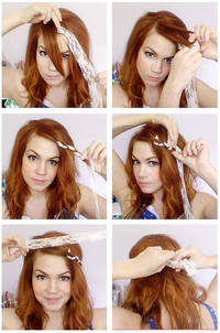 A World of Color: Lacy Hair How To