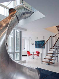 east village new york penthouse slide turett architects