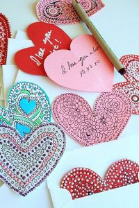DIY Valentine Cards #diy #valentinesday