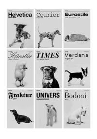 Dog types. Literally.