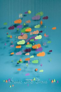 clouds paper mobile