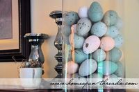 decorate with Easter eggs.