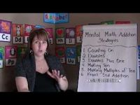 explanation and links to resources for mental math addition strategies