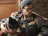 Denim. Indian. Beanie. Glasses. Clothes and dogs: primary wants.