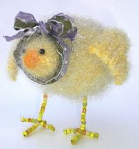 woolly chicks pattern - in aura yarn