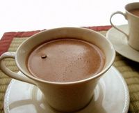 A Healthier Hot Chocolate