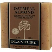 Oatmeal Almond 100% Pure & Natural Aromatherapy Herbal Soap $3.50