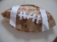 stuffed football
