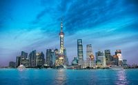 Shanghai City Of Lights (China) | China photo