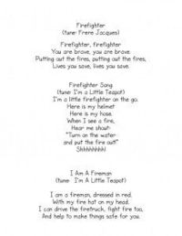 Fire Fighter Song