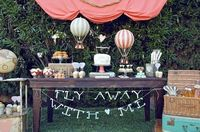 Beautiful travel inspired wedding! Fly Away With Me!