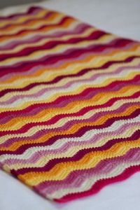 Inspiration (and Free Pattern): Scatterpig's Pretty Ripples in a delicious selection of Biggan First Cross Merino. From Attic24's 'Neat Ripple Pattern': http://www.ravelry.com/patterns/library/neat-ripple-pattern