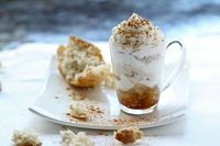 Coffee Granita w/ Whipped Cream