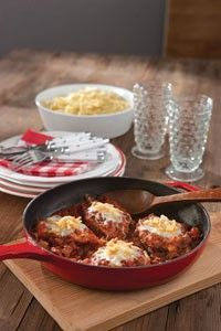 Skillet Parmesan Chicken easy weeknight dinner by PD