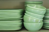 Vintage Jadeite Dishes