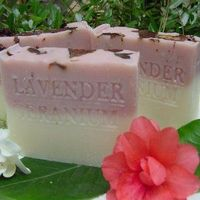 Provence French Lavender + Egyptian Geranium & Rose Clay Organic Soap $12.00