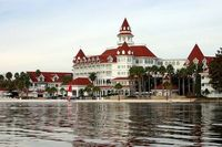 Grand Floridian. I stayed in the main building. The lobby is so majestic!