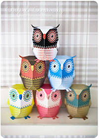 Craft of the Day, paper owl