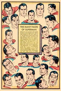 Comic book Superman...Clark Kent......Curt Swan
