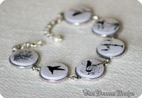 FREE SHIPPING Bracelet with Birds Tree and by SunDevonaDesign, $29.00