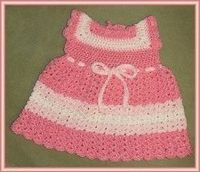 The most adorable outfit for your little girl is this pretty in pink toddler sundress. You can use this free crochet pattern and give it to her as a gift. Bernat Baby Coordinates is used.
