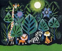 African Paradise by Mary Blair