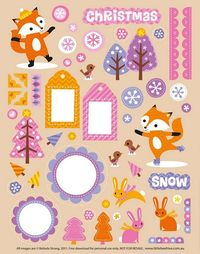 This site has tons of adorable free printables