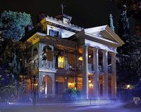 The Haunted Mansion ... my favorite ride.