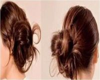 How to Make Side Swept Bun Hairstyle